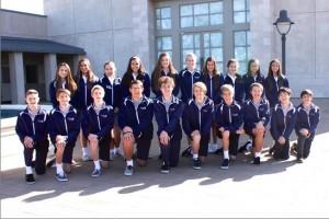 Academic Decathalon Team 2014