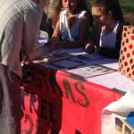 8th Graders Selling Xmas trees (1)