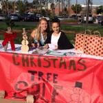 8th Graders Selling Xmas trees (4)